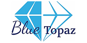 Blue Topaz Caravan Park Logo - The Granite Belt Informer