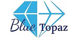 Blue Topaz Caravan Park Logo - The Granite Belt Informer