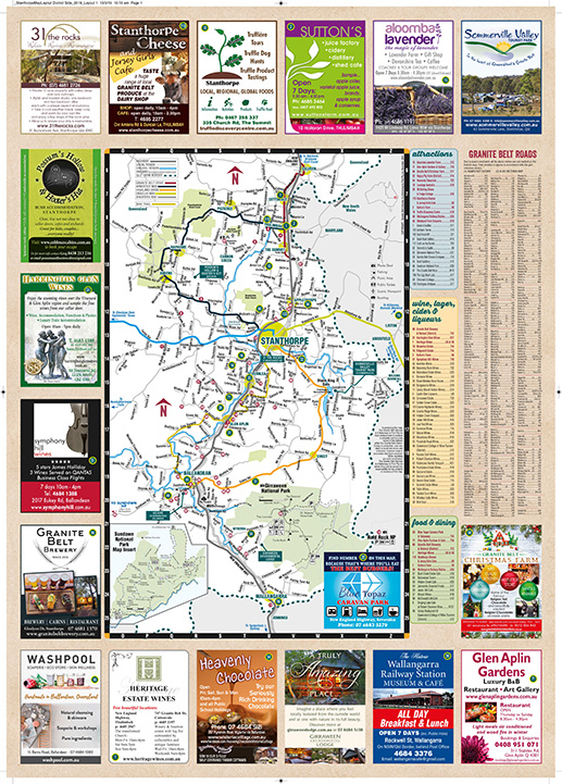 Stanthorpe District Map